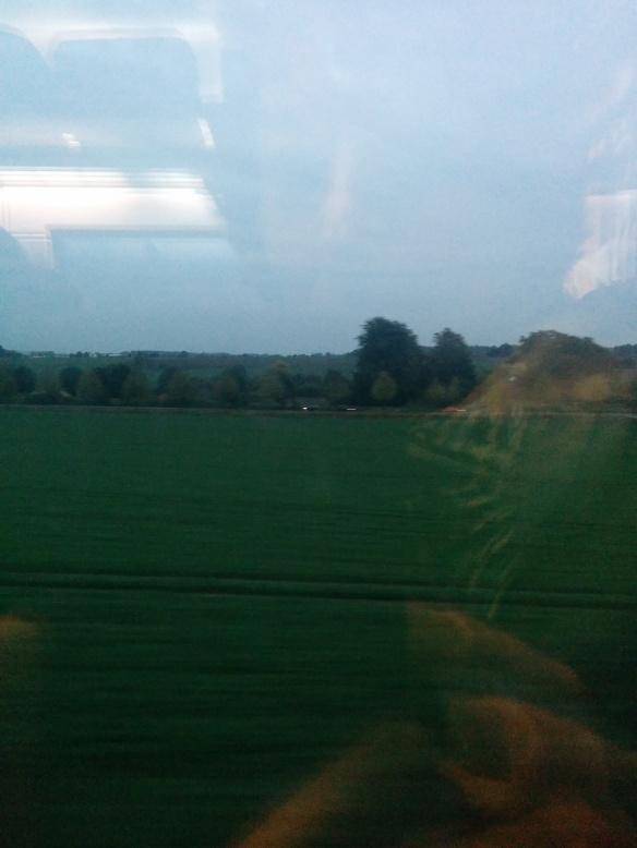 אני ברכבת